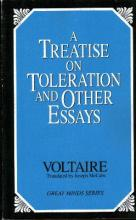 A Treatise On Toleration And Other Essays, A