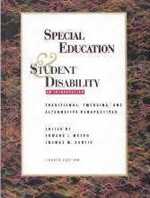 Special Education and Student Disability