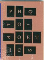Photo-Poetics: an Anthology