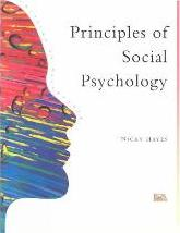The Principles of Social Psychology