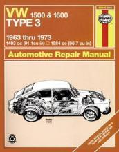 Volkswagen 1500/1600 Type 3 Owner's Workshop Manual