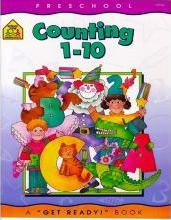 School Zone Pre Counting 1-10 Wkbk