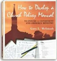 How to Develop a Church Policy Manual