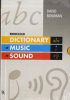 Dictionary of Music in Sound