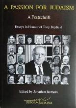 A Passion for Judaism; a Festschrift