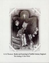 Books and Learning in Twelfth-Century England