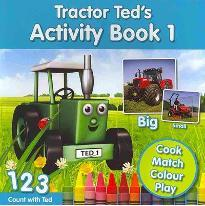 Tractor Ted's Activity Book: 1