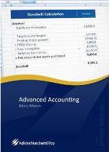 Advanced Accounting 2012