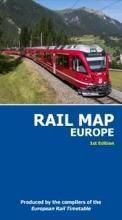 Rail Map of Europe 2017