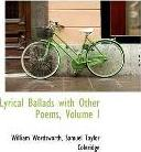 Lyrical Ballads with Other Poems, Volume I