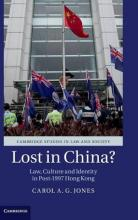 Cambridge Studies in Law and Society: Lost in China?: Law, Culture and Identity in Post-1997 Hong Kong