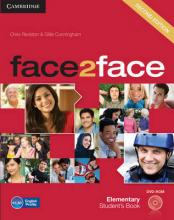 face2face Elementary Student's Book with DVD-ROM