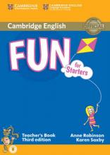 Fun for Starters Teacher's Book with Audio