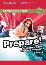 Cambridge English Prepare!: Cambridge English Prepare! Level 4 Student's Book and Online Workbook