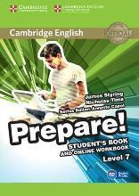 Cambridge English Prepare!: Cambridge English Prepare! Level 7 Student's Book and Online Workbook