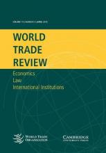 The American Law Institute Reporters Studies on WTO Law: The WTO Case Law of 2010