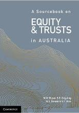A Sourcebook on Equity and Trusts in Australia