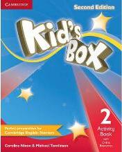 Kid's Box Level 2 Activity Book with Online Resources: Level 2