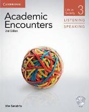 Academic Encounters Level 3 Student's Book Listening and Speaking with DVD