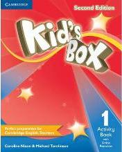 Kid's Box Level 1 Activity Book with Online Resources: Level 1