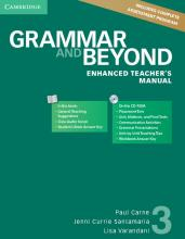 Grammar and Beyond Level 3 Enhanced Teacher's Manual with CD-ROM: 3