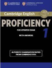 CPE Practice Tests Cambridge English Proficiency 1 For Updated Exam Students Book With Answers
