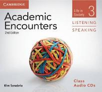 Academic Encounters Level 3 Class Audio CDs (3) Listening and Speaking
