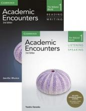 Academic Encounters Level 1 2-Book Set (R&W Student's Book with WSI, L&S Student's Book with Integrated Digital Learning)