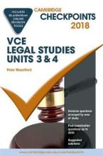 Cambridge Checkpoints VCE Legal Studies Units 3 and 4 2018 and Quiz Me More