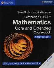 Cambridge International IGCSE: Cambridge IGCSE (R) Mathematics Coursebook Core and Extended Second Edition with Cambridge Online Mathematics (2 Years)
