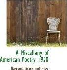 A Miscellany of American Poetry 1920