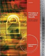 Principles of Information Security, International Edition