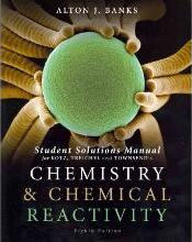 Chemistry & Chemical Reactivity, Student Solutions Manual