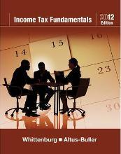 Income Tax Fundamentals 2012 (with H&R BLOCK At Home (TM) Tax Preparation Software CD-ROM)