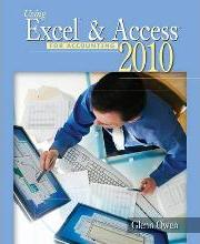 Using Excel & Access for Accounting 2010
