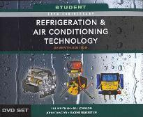 Student DVD Set for Whitman/Johnson/Tomczyk/Silberstein's Refrigeration and Air Conditioning Technology