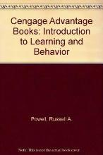 Cengage Advantage Books: Introduction to Learning and Behavior