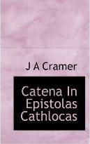 Catena in Epistolas Cathlocas