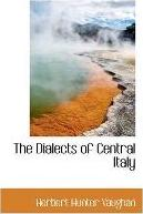 The Dialects of Central Italy