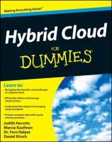 Hybrid Cloud Computing For Dummies