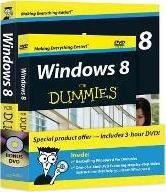 Windows 8 For Dummies(R) Book + DVD Bundle