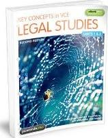 Key Concepts in VCE Legal Studies Units 1 & 2 2E Flexisaver & eBookPLUS