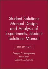 Design and Analysis of Experiments Student Solutions Manual