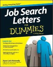 job search letters for dummies - Resumes For Dummies