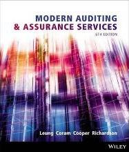 Modern Auditing and Assurance Services 6E