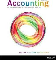 Accounting Business Reporting for Decision Making