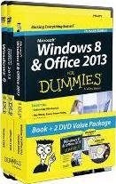 Windows 8 & Office 2013 for Dummies, Portable Edition Book+2dvd Bundle