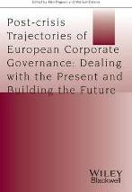 Post-crisis Trajectories of European Corporate Governance