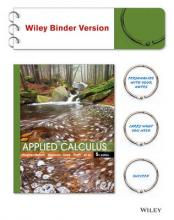 Applied Calculus 5E Binder Ready Version with WileyPlus Card