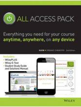 Organic Chemistry 2E All Access Pack
